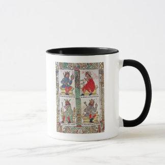 Mug Le Roi David, Solomon, Luba et Turnis