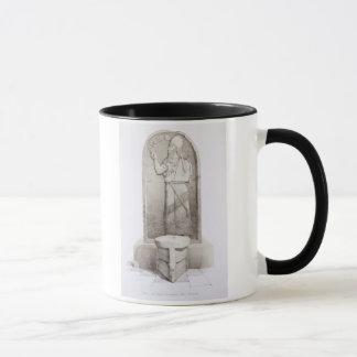 Mug Le roi et l'autel sacrificatoire, Nimrud, plaquent