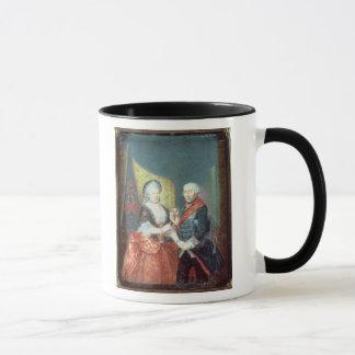 Mug Le Roi Frederick II et son épouse