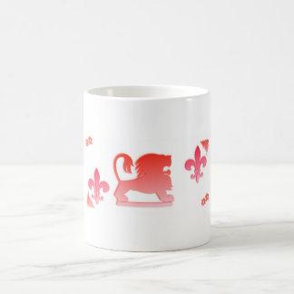 Mug Le Roi Red de lion
