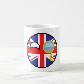 Mug Le Royaume-Uni Geeky tendant drôle Countryball