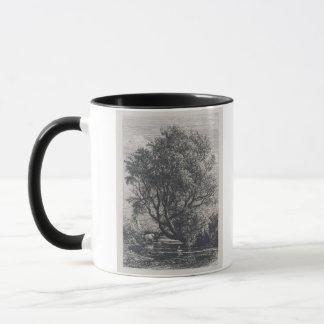 Mug Le saule (gravure à l'eau-forte)
