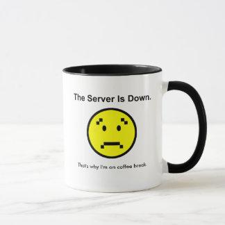 Mug Le serveur est en panne