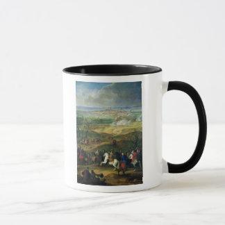 Mug Le siège de Mons par Louis XIV le 9 avril 1691