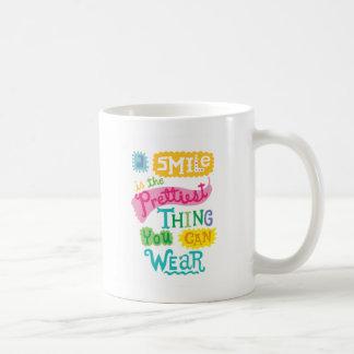 Mug Le sourire est la plus jolie chose que vous pouvez