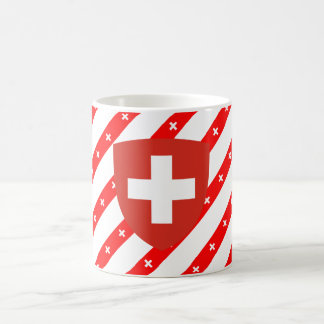 Mug Le Suisse barre le drapeau
