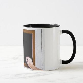 Mug Le tableau noir vide, ajoutent votre texte