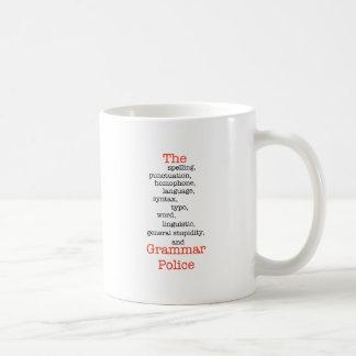 Mug Le tout police