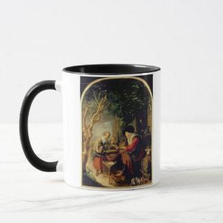 Mug Le vendeur de crêpe, 1650-55 (huile sur le