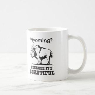 Mug Le Wyoming ? Puisqu'il est beau