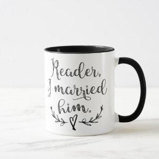 Mug Lecteur de Jane Eyre je l'ai épousé