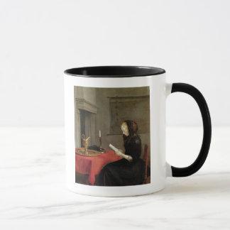 Mug Lecture de femme, c.1662