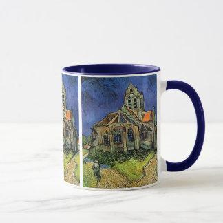 Mug L'église chez Auvers par Vincent van Gogh
