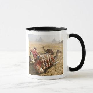 Mug L'Egypte, le Caire. Regard fixe de repos de