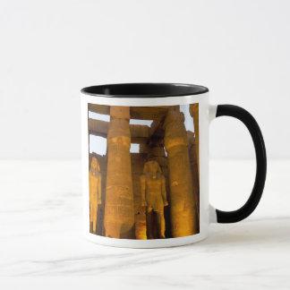 Mug L'Egypte, Louxor.  Temple de Karnack