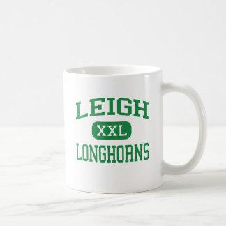 Mug Leigh - Longhorns - haut - San Jose la Californie