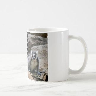 Mug Lémur coupé la queue par anneau