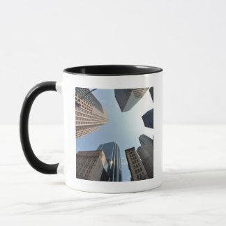 Mug lentille de Poisson-oeil du bâtiment, Boston, USA
