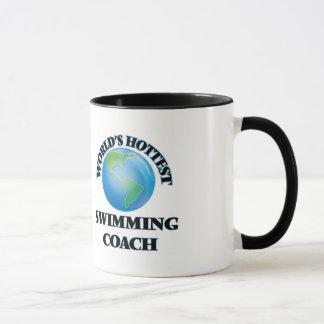 Mug L'entraîneur de la natation le plus chaud du monde
