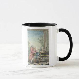 Mug Leopold Mozart et ses enfants Wolfgang