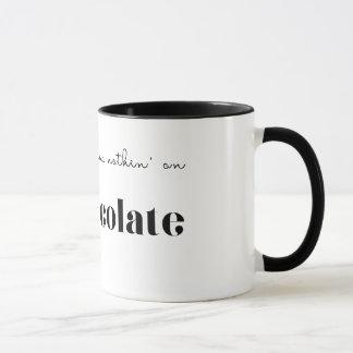 Mug L'épice de citrouille a Nothin sur le chocolat