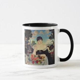 Mug L'épouse du négociant chez Tea, 1918
