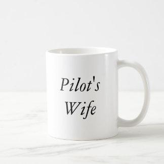 Mug L'épouse du pilote