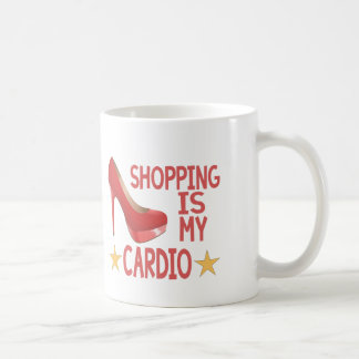 Mug Les achats sont mes cardio- 2