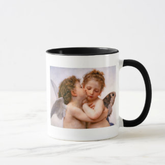 Mug Les anges embrassent d'abord, des beaux-arts de