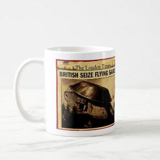 Mug Les Anglais saisissent la soucoupe volante