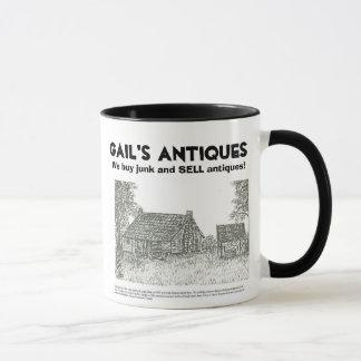 Mug Les antiquités de Gail, nous achetons l'ordure et