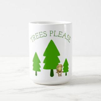 Mug Les arbres satisfont