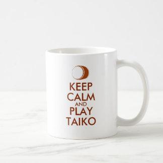 Mug Les cadeaux de Taiko gardent la coutume de tambour