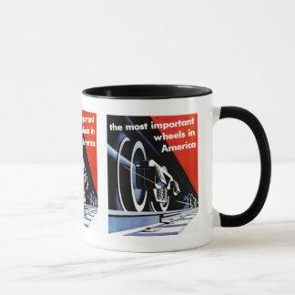 Mug Les Chemins de fer-Plus importants roule dedans