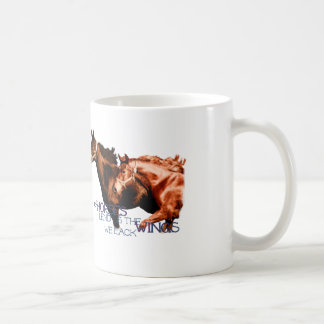 Mug Les chevaux nous prêtent les ailes que nous
