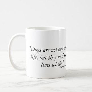 Mug Les chiens guérissent nos vies - Weimaraner