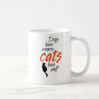 Mug Les chiens ont des chats de propriétaires avoir le