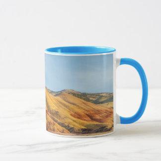 Mug Les collines peintes dans les lits de fossile de