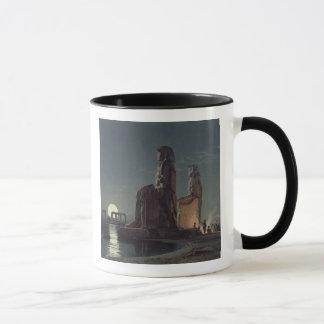 Mug Les colosses de Memnon, Thebes, un de 24 illustrat