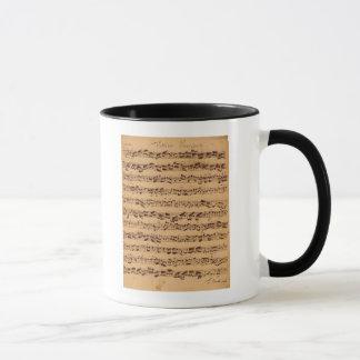 Mug Les concerts de Brandenburger, No.5 D-Dur, 1721