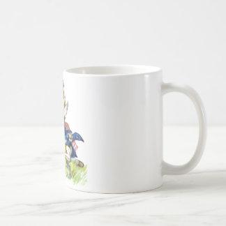 Mug Les courses de lapin de blanc par Alice