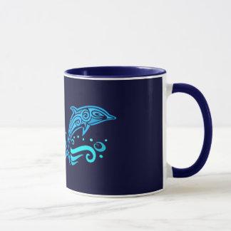 Mug Les dauphins tribaux attaquent - choisissez le