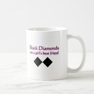 Mug Les diamants noirs sont un meilleur ami de filles