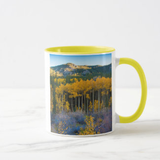 Mug Les Etats-Unis, le Colorado. Trembles jaunes