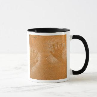 Mug Les Etats-Unis, Utah, Main-copies de pictographe