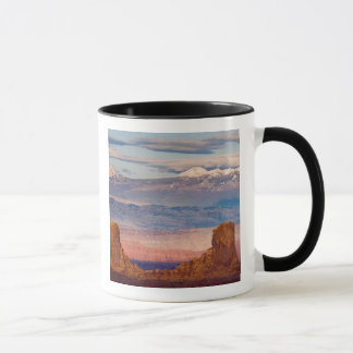 Mug Les Etats-Unis, Utah. Pittoresque des montagnes de