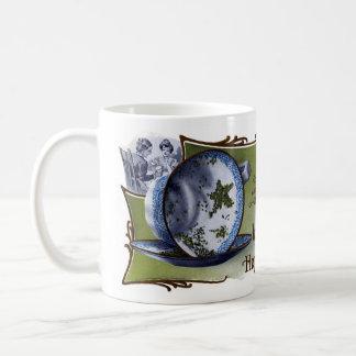 Mug Les feuilles de thé en forme d'étoile prévoient la