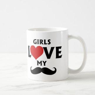 Mug Les filles aiment ma moustache