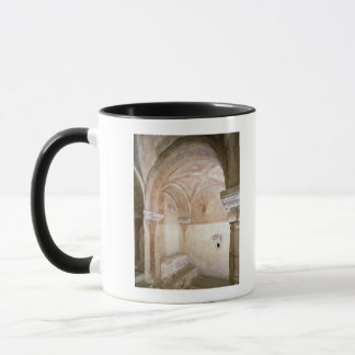 Mug Les fresques de Carolingian dans la crypte