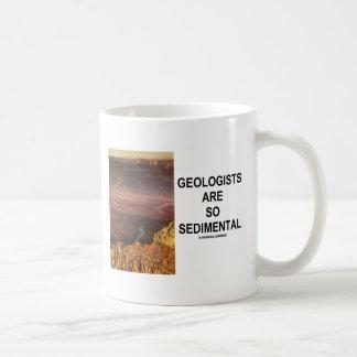Mug Les géologues sont si Sedimental (le canyon grand)